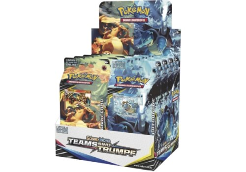 Pokemon SM09 Themendeck, 60 Karten in einer Deckbox