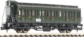 Fleischmann FM807101 N 2-achsiger Abteilwagen 2. Klasse mit B