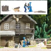 H0 A-Set:Holzspalter