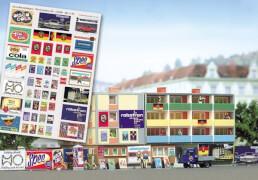 H0 Werbeplakat-Set DDR