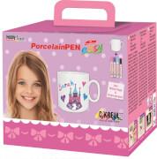 Hobby Line PorcelainPen easy Komplett-Set Mädchen
