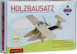 Holzbausatz SOLAR Sport-Flugzeug 14 Teile