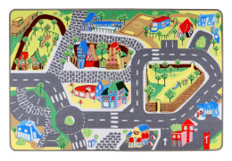 TEP11 Teppino Spielteppich ''Meine Stadt''