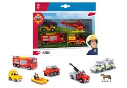 Feuerwehrmann Sam 4 Pack, 3-fach sortiert