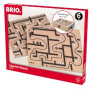 BRIO 63403000 Labyrinth Ersatzplatten, 2tlg.