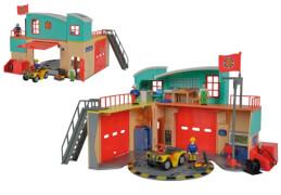 Simba Feuerwehrmann Sam - Neue Feuerwehrstation mit Figur