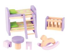 Beeboo Puppenhausmöbel Kinderzimmer