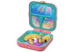 Mattel GDK77 Polly Pocket Verborgene Schätze Meerjungfrauenbucht
