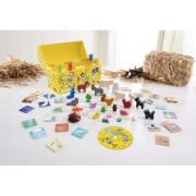 HABA - Ratz Fatz Lieder-Spiel - Kiste, für 1-4 Spieler, ab 3 Jahren