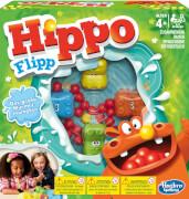 Hasbro 98936398 Hippo Flipp, für 2-4 Spieler, ab 4 Jahren