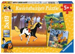 Ravensburger 093892  Puzzle Yakari unterwegs 3 x 49 Teile