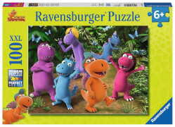 Ravensburger 10407 Puzzle Neue Abenteuer mit Drache Kokosnuss 100 Teile XXL