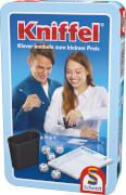 Schmidt Spiele 51203 Kniffel, Mitbringspiel in der Metalldose, 2 bis 8 Spieler, ab 8 Jahre