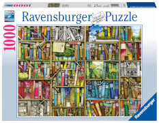 Ravensburger 19137 Puzzle Magisches Bücherregal 1000 Teile