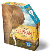 Madd_Capp - Shape Puzzle Elefant 645 Teile