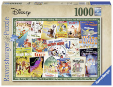 Ravensburger 19874 Puzzle Disney Vintage Movie Post. 1000 Teile