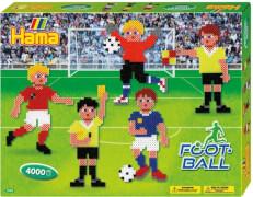 HAMA Bügelperlen Midi - Geschenkpackung Fußball - 2 Stiftplatten
