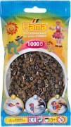 HAMA Perlen, braun, 1.000 Stück