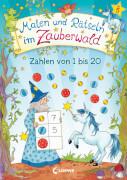 Loewe Malen und Rätseln im Zauberwald - Zahlen von 1 bis 20