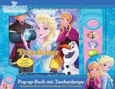 Pop-up-Buch ''Die Eiskönigin - Polarlichter'' inkl. Sound-Taschenlampe, Hardcover, 18 Seiten, 4 Jahre