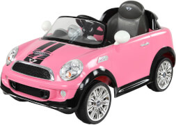 Rollplay MINI Cooper S Roadster, 6V, RC, pink