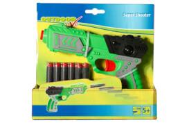 Outdoor active Super Shooter, inklusive 6 Darts