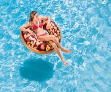 Schwimmreifen Nutty Chocolate Donut Tube, ab 9 Jahre, 114cm