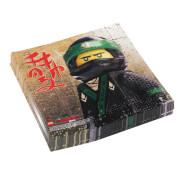 20 Servietten Lego Ninjago, 33 x 33 cm