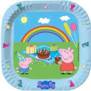 Peppa Pig Pappteller # 23cm 6 Stück