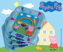 Peppa Pig Pappteller Ø 23cm 6 Stück