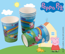 Peppa Pig Pappbecher 200ml 6 Stück